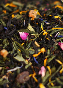 Композиционный чай- красивая основа для чайного подарка