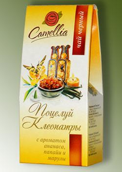 Корпоративный чайный подарок - чай в картонной упаковке с дизайном и логотипом заказчика